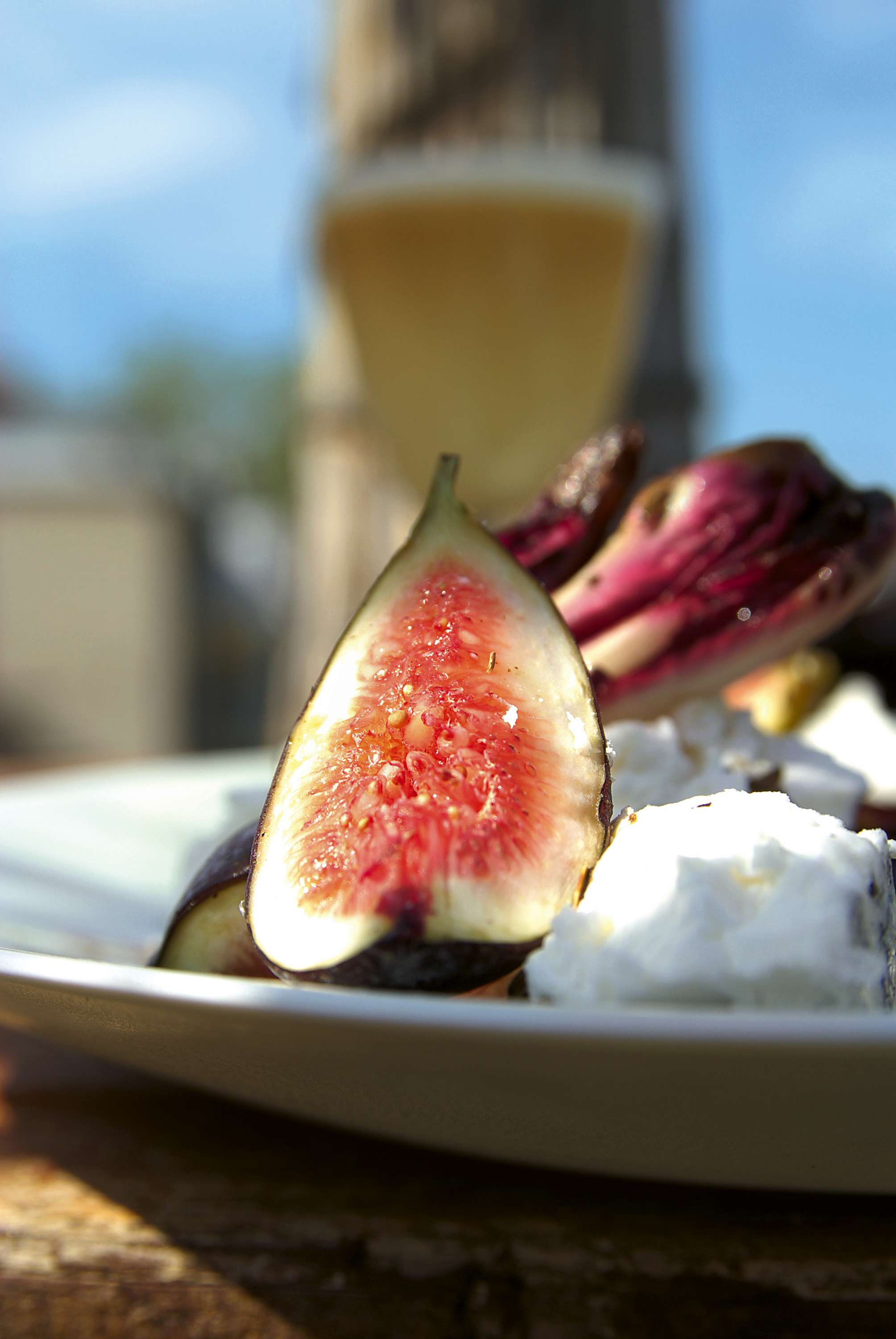 Salate & Drinks: Radicchio vom Grill & Lola