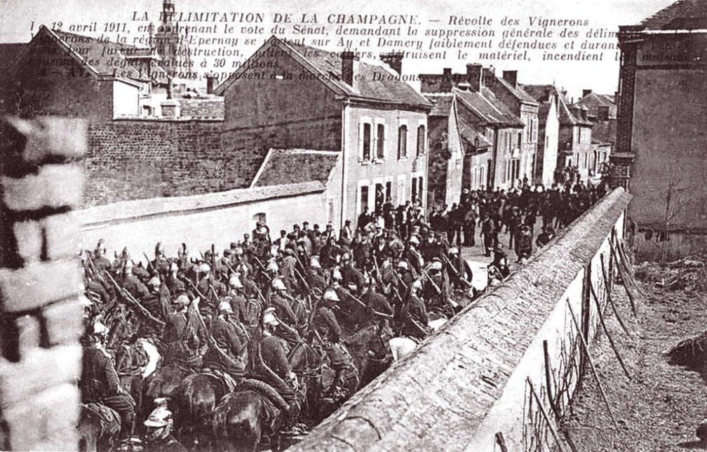 Militär in Épernay