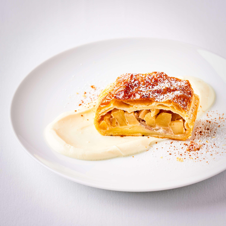 Quick Walnut Apple Pie
