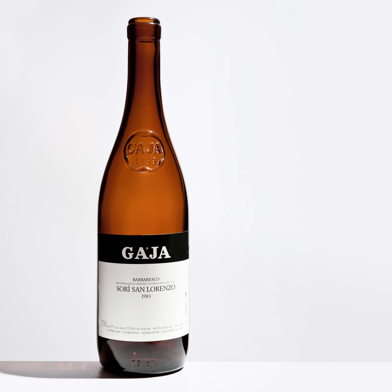 Getrunkene Flasche: Barbaresco Sori San Lorenzo 1983
