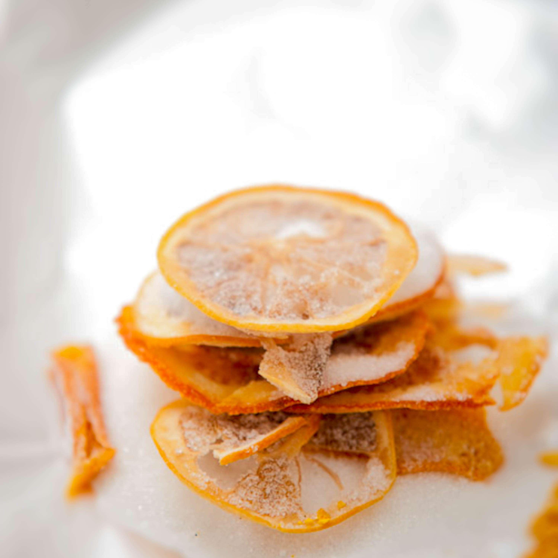 Getrocknete Zitrusfrüchte Variante eins