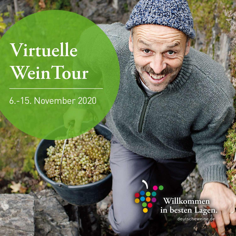 Erleben Sie die 13 deutschen Weinregionen online!