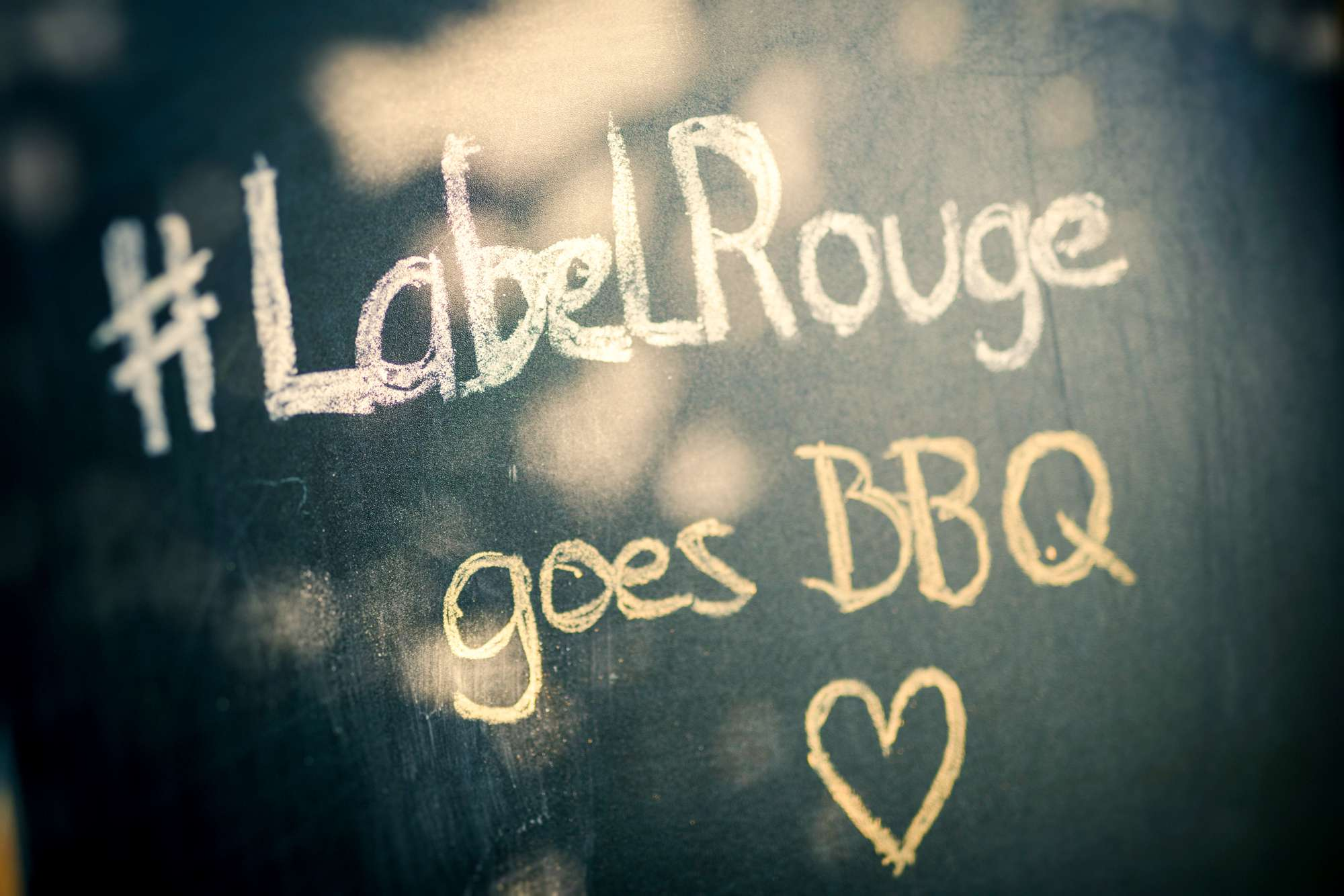 Label Rouge goes BBQ