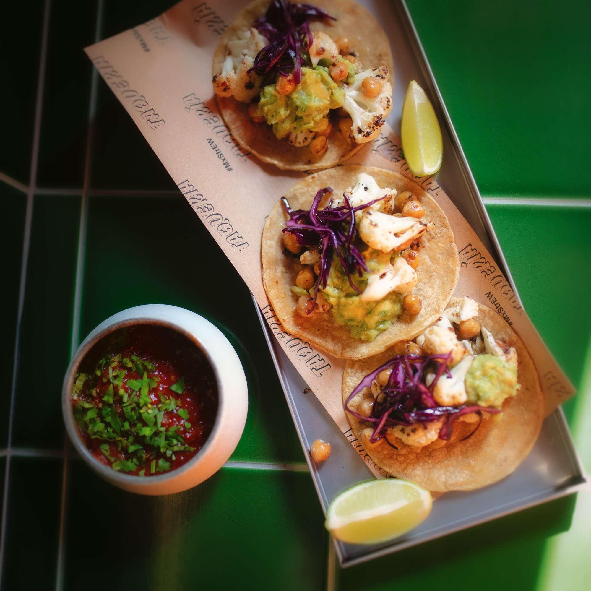 Blumenkohl-Taco
