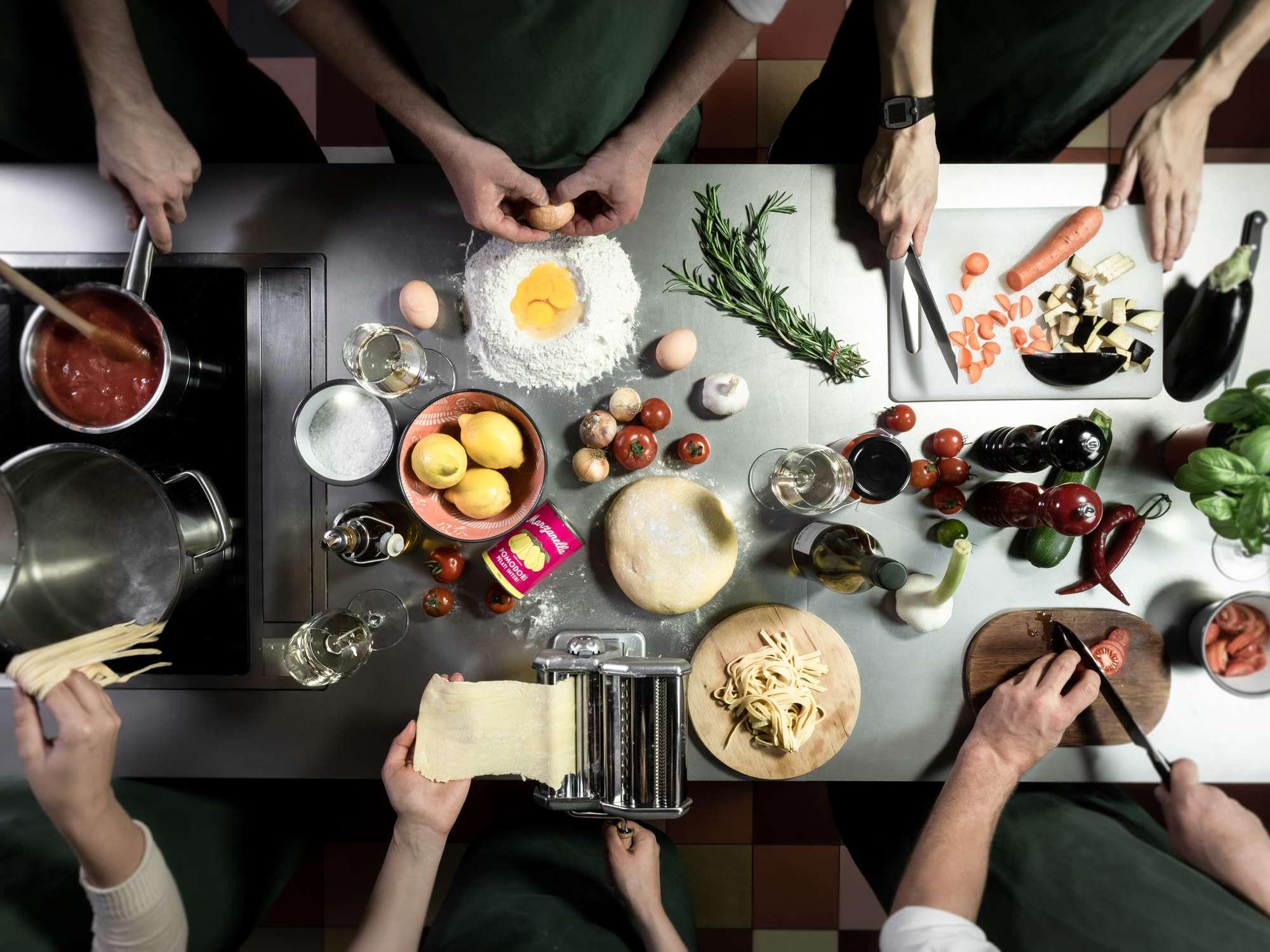 Live Online Kochkurse bei Goldhahn und Sampson