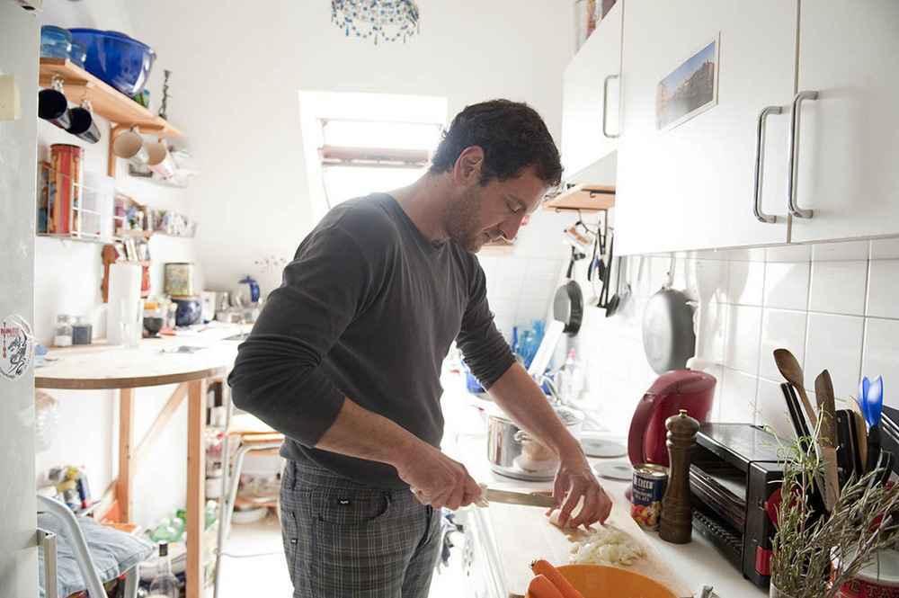 Massimo Ferrigo, 36, Italien, kocht Pasta e Fagioli alla Veneziana