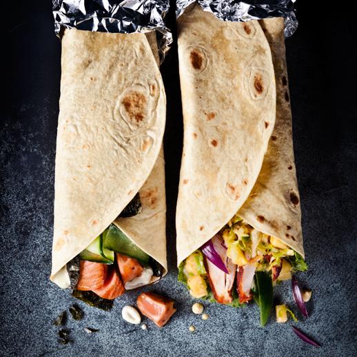 Tandoori-Chicken-Wrap