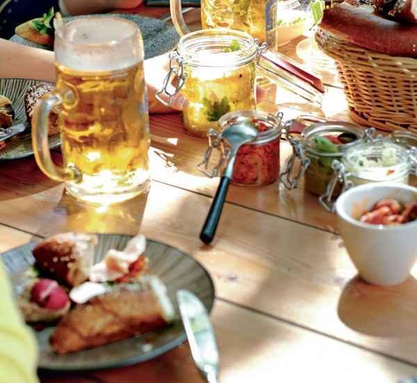 Salat von Chorizo und Honig