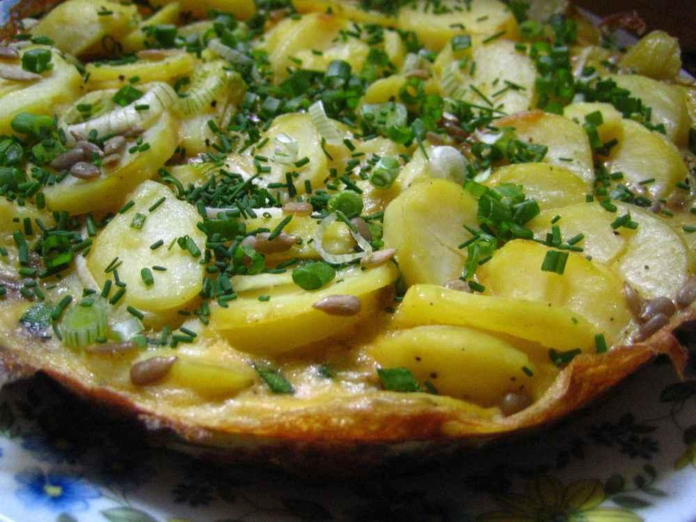 Kartoffelkuchen, Rechteinhaber: selbst erstellt, Lizenzvereinbarung: Creative Commons Attribution 2.0 Germany License