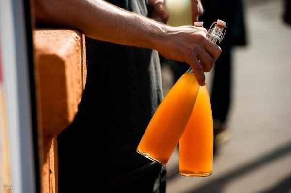 Ingwer-Karamell-Limonade
