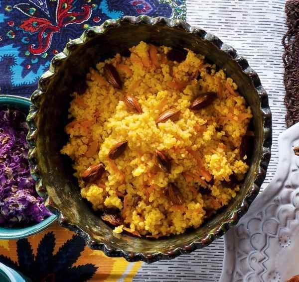 Möhren-Couscous