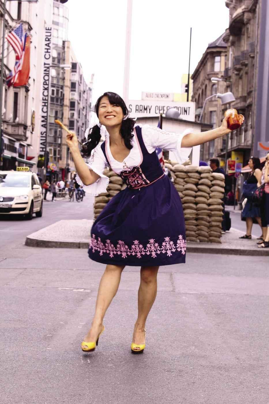 Fräulein Kimchi: Käsespätzle mit Kimchi