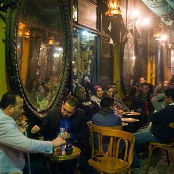 Ein orientalischer Traum: das Al-Fishawi im Kairoer Basarviertel Khan al-Khalili