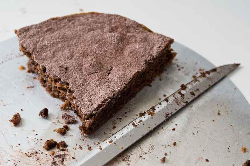 Schokoladen-Walnuß-Torte, Rechteinhaber: Andrea Thode, Lizenzvereinbarung: Nutzung nur auf Effilee
