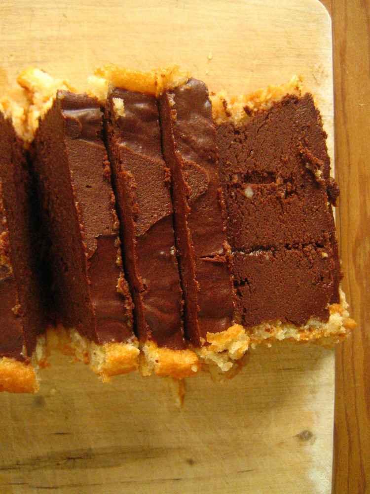 Schokoladen-Marquise, Rechteinhaber: selbst erstellt, Lizenzvereinbarung: Creative Commons Attribution 2.0 Germany License