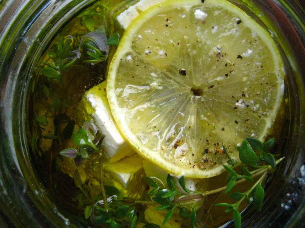 Zitronen-Feta