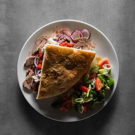 Döner Kebab (Heimwerkerversion)