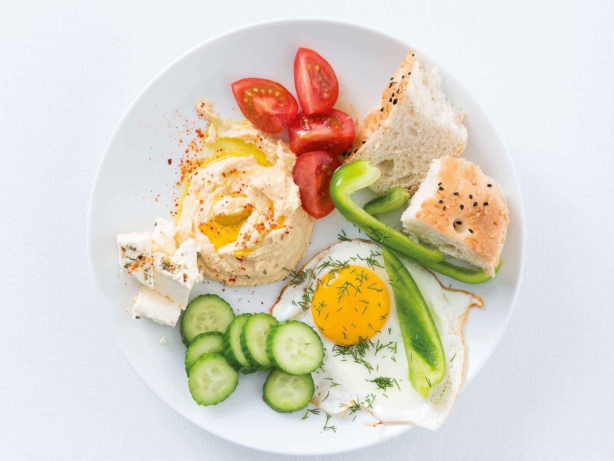 Frühstück in Abu Dhabi