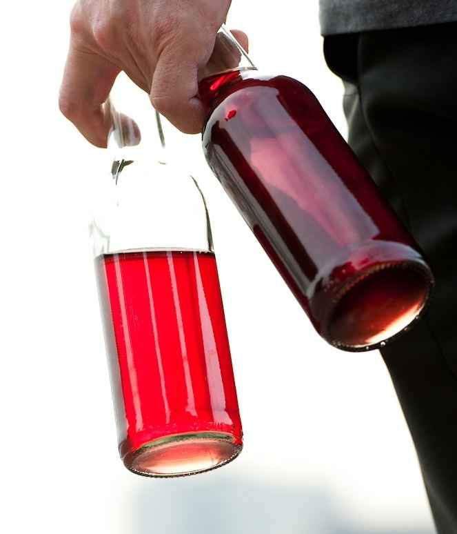 Kirsch-Rosmarin-Limonade