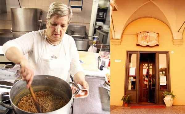 Anna Maria kommt aus Bologna, und wenn es um die Bologneser Sauce geht, versteht sie keinen Spaß.  Bei den Nudeln dazu allerdings auch nicht: nie und nimmer Spaghetti, sondern immer Tagliatelle!