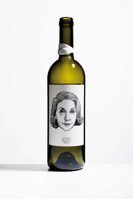 Getrunkene Flasche: Gut Oggau, Mechthild 2009