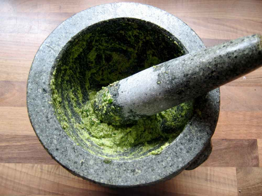Pesto alla genovese, Rechteinhaber: dicki, Lizenzvereinbarung: Creative Commons