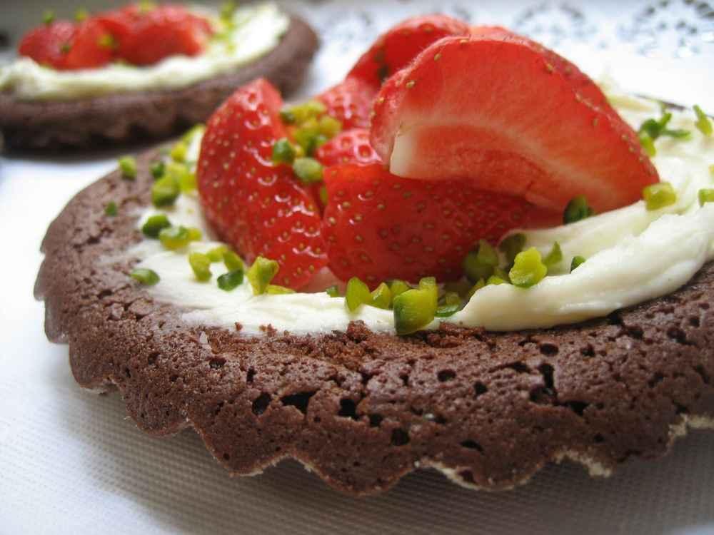 Schoko-Tartelettes, Rechteinhaber: selbst erstellt, Lizenzvereinbarung: Creative Commons Attribution 2.0 Germany License